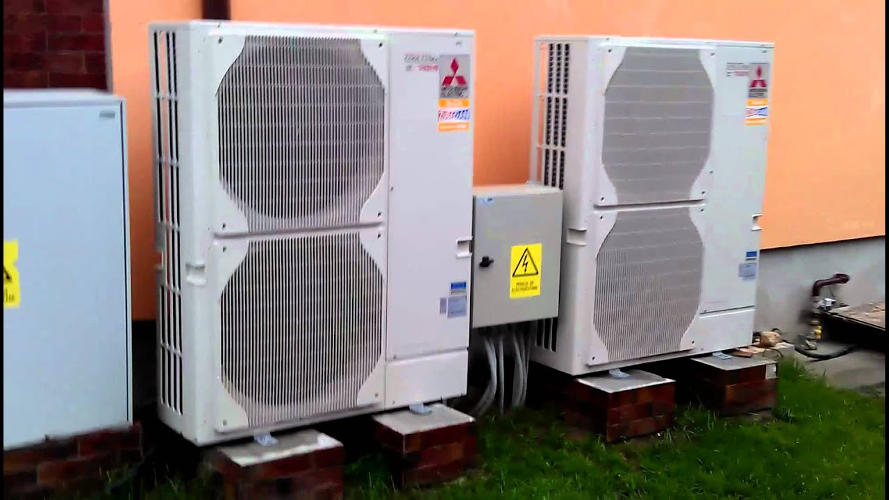 electric mitsubishi heating hvac commercial installation animation cooling watch vrf