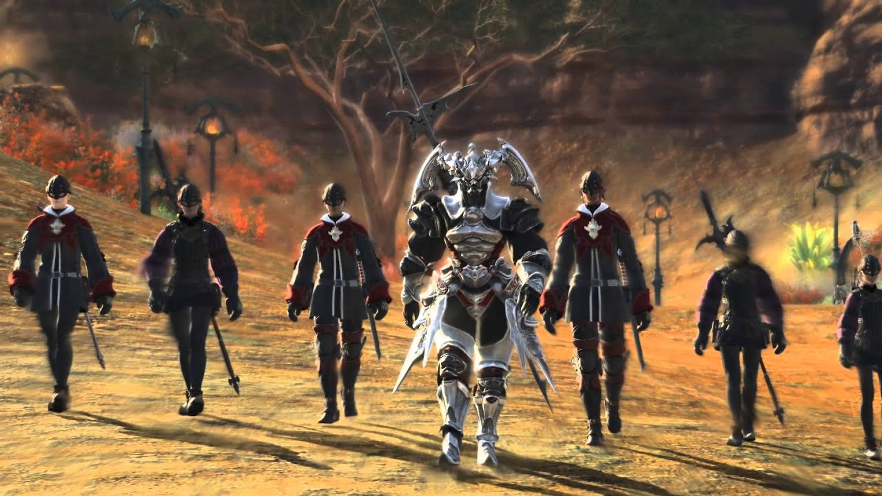Final Fantasy XIV 1 x - All Grand Company Quest Cutscenes (Order Of The  Twin Adder - Gridania)
