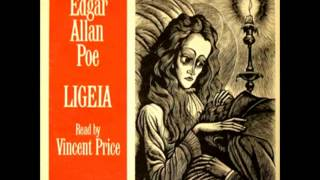 edgar allan poe ligeia read by vincent price