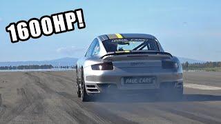 1600HP 9ff Porsche 997 Turbo Top Speed 332km/h (206 mph)