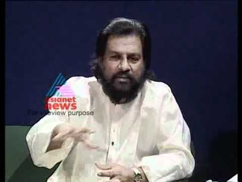 "K.J.Yesudas on Asianet News - ""Kannadi Archives"" Part 1"
