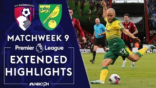 Bournemouth v. Norwich City | PREMIER LEAGUE HIGHLIGHTS | 10/19/19 | NBC Sports