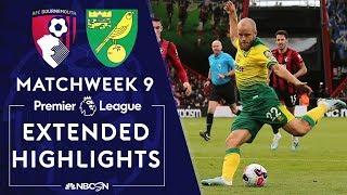 Bournemouth V. Norwich City | Premier League Highlights | 10/19/19 | Nbc Sports