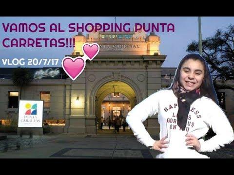 VAMOS AL SHOPPING PUNTA CARRETAS!/VLOG 20/7/17/Srta Lu♥