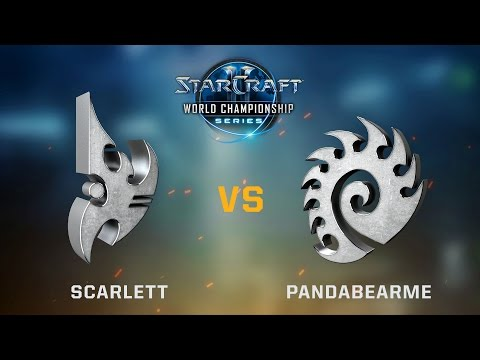 StarCraft 2 - Scarlett vs. PandaBearMe (PvZ) - Ro16 Quarter Finals - WCS Austin Challenger NA