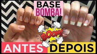 BASE BOMBA PARA UNHAS FRACAS SEM GASTAR! 💅🏻#UNHASDABELA