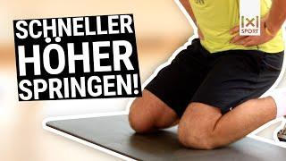 Maximale Sprungkraft in 6 Wochen: Übung Kniesprünge für meh…
