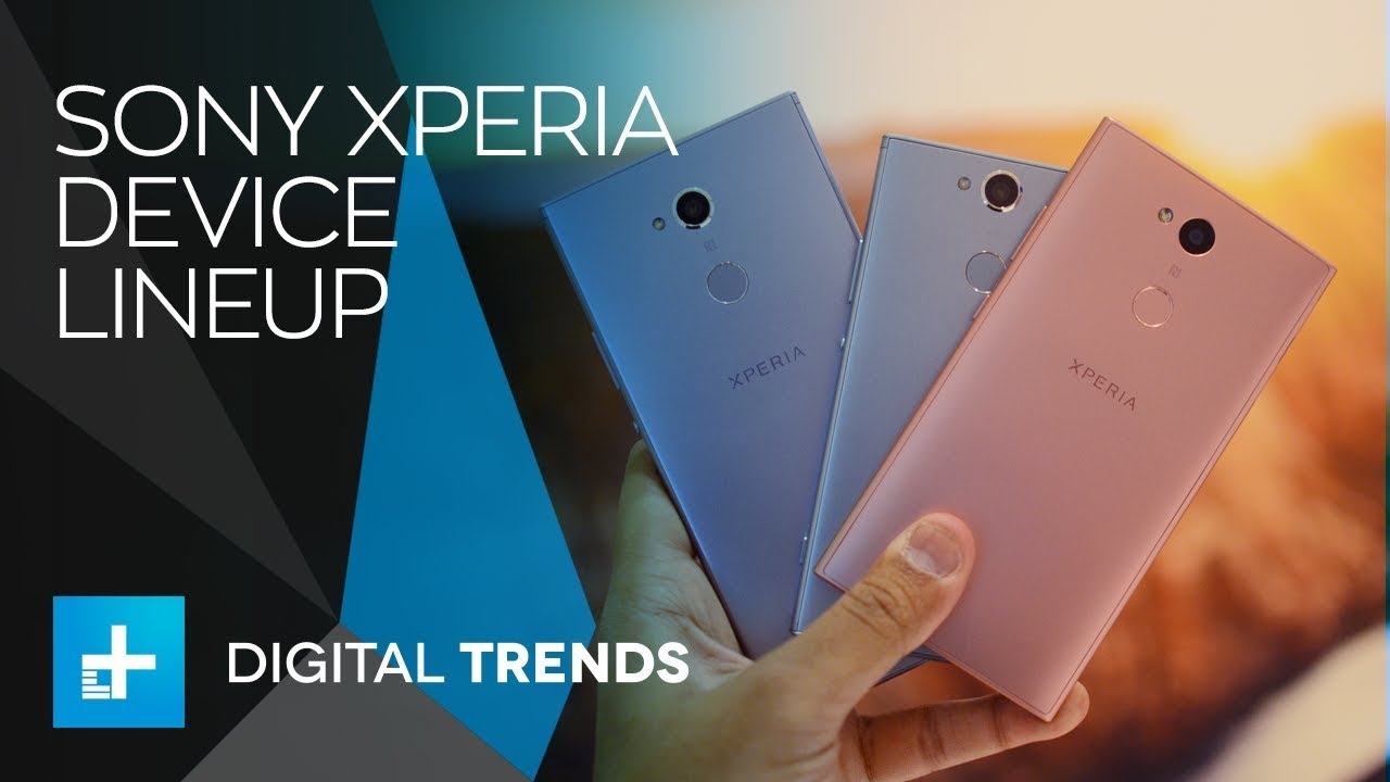 Sony Xperia Series Devices at CES 2018