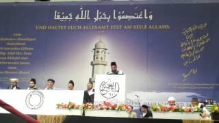 Kamal Ahmad - National Ijtema 2014 - Abschlusszeremonie - Hume Us Yaar Se Taqwa