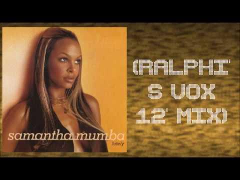 Samantha Mumba - Lately (Ralphi's Vox 12' Mix)