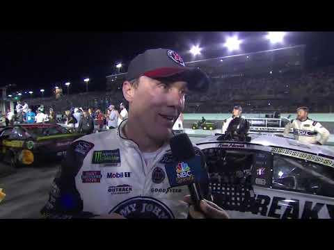 Kevin Harvick: 'We just got beat tonight'