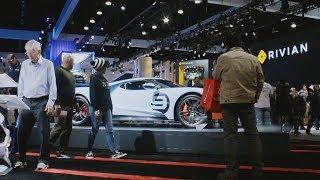Hyperlapse tour of the 2018 LA Auto show