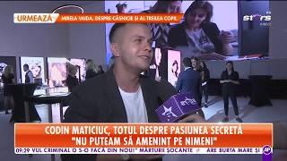 """Codin Maticiuc, totul despre pasiunea secretă: """"Mă abțin să nu-mi mai pun atâtea bijuterii"""""""
