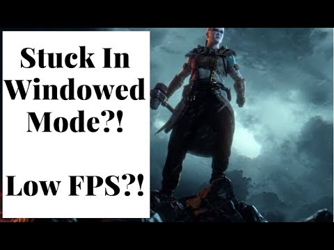 For Honor Windowed Mode And FPS Bug Fix August 1, 2019.
