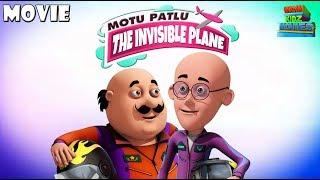 Animated Movies for kids | Motu Patlu - The Invisible Plane | Funny Cartoon Movie | WowKidz Movies