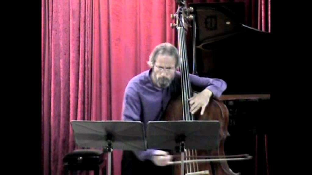Tzvi Avni: Intermezzo for Solo Double Bass - Michael Klinghoffer (Double-bass)