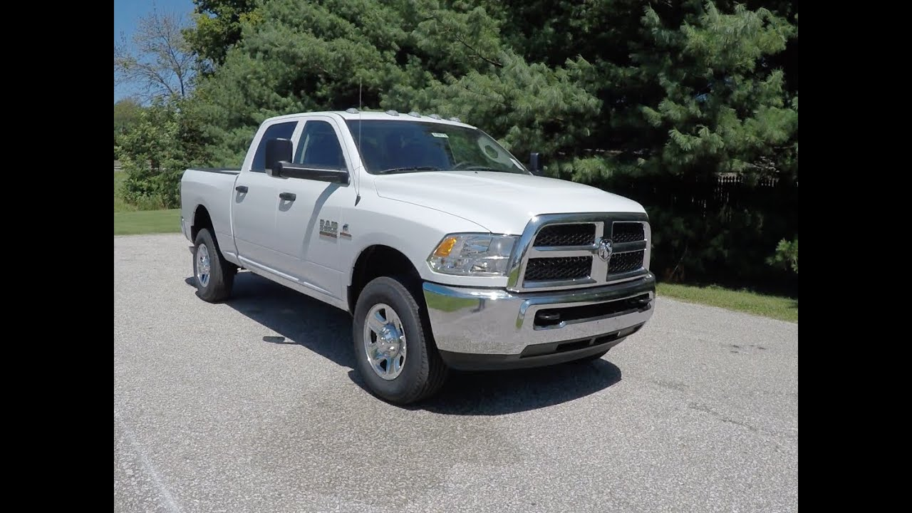 2016 RAM 2500 Tradesman Crew Cab HD 4X4|18072 - YouTube
