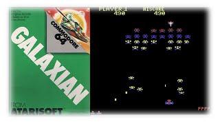 Galaxian   Commodore 64   1983   Atarisoft   Bonus 2/4