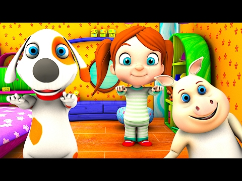Wind The Bobbin Up | Kindergarten Nursery Rhymes & Songs for Kids | Little Treehouse S03E31