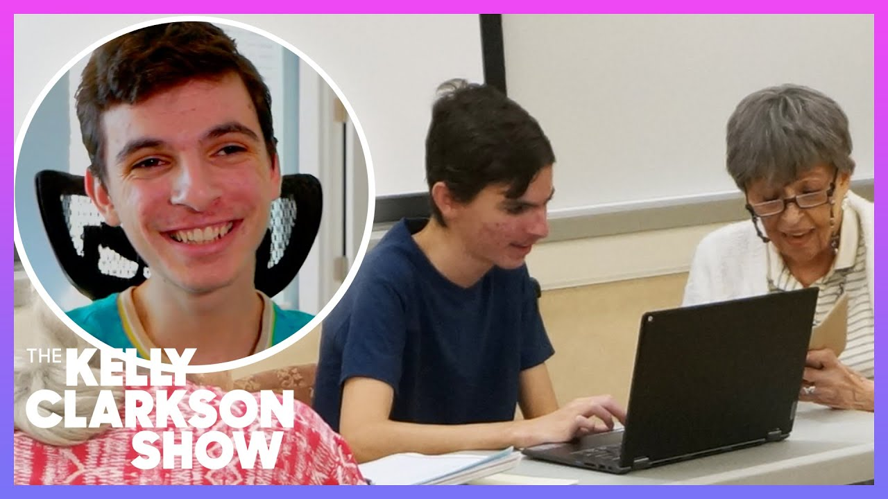 17-Year-Old Provides Free Tech Support To Seniors