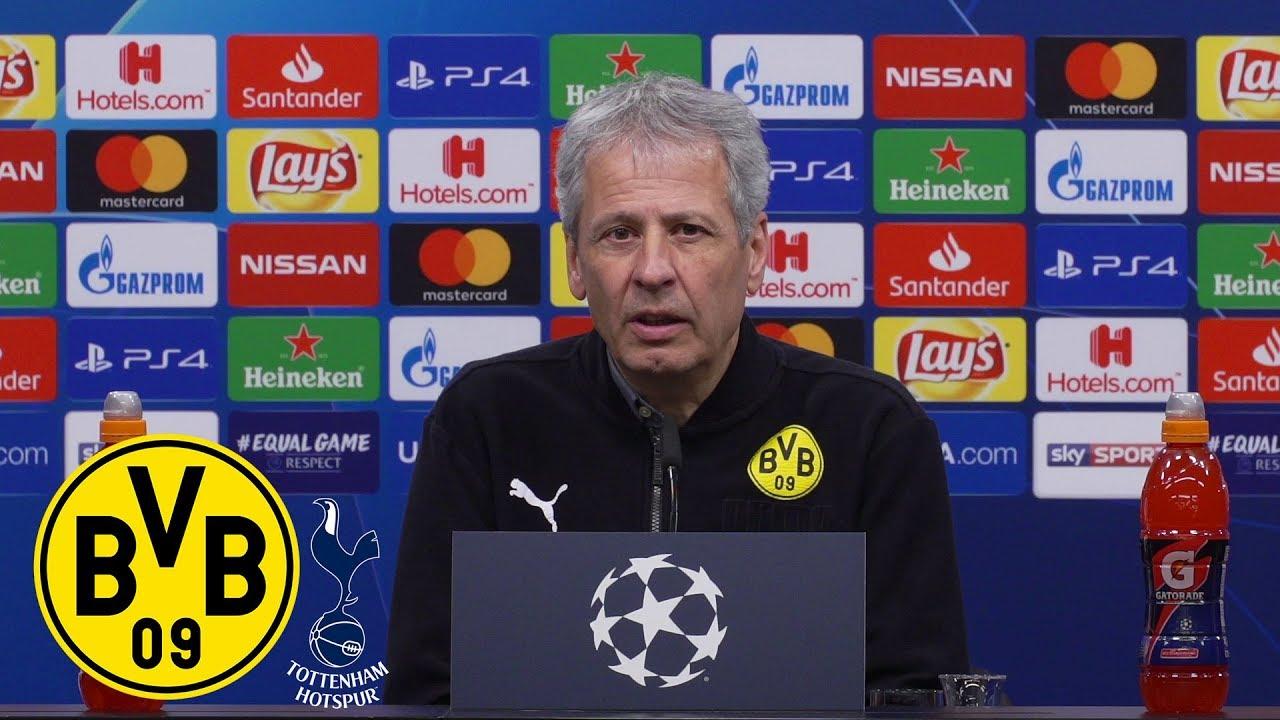 Raus mit Applaus | PK mit Lucien Favre | BVB - Tottenham Hotspur 0:1