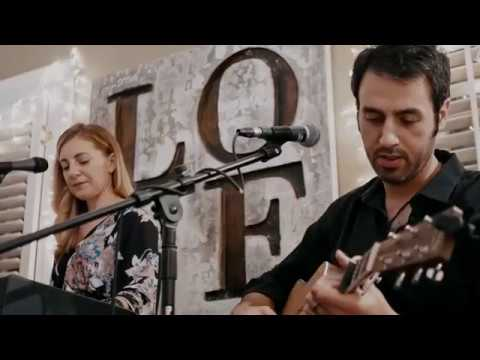 Ari Hest and Chrissi Poland - The Weight - Live at the Backyard Stage