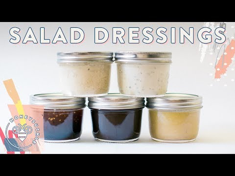 5 DIY Salad Dressings for #BuzyBeez ��