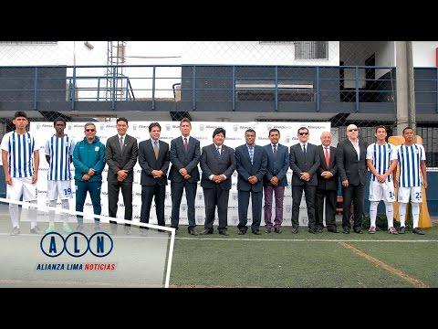 Firma de Convenio l Alianza Lima - Federación Peruana de Fútbol