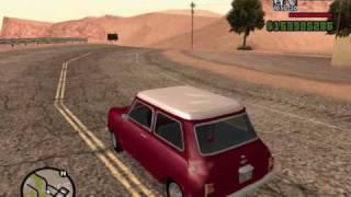 Old English cars in GTA San Andreas