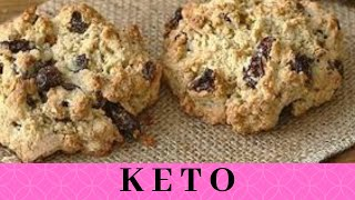 KETO Vegan Raisin Oatmeal Cookies! Low-Carb Oatmeal Cookie Recipe *So Yummy & Tasty*