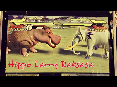 Strong Animal Kaiser Giant Hippo Larry VS Kaiser Vrede S4 Stage 10