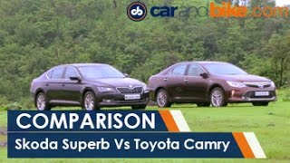 Toyota Camry Hybrid Vs Skoda Superb Comparison - NDTV CarAndBike