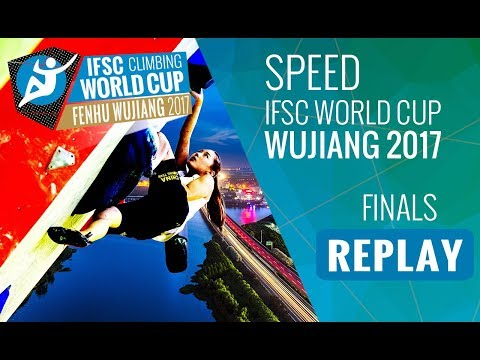 IFSC Climbing World Cup Wujiang 2017 - Speed - Finals - Men/Women