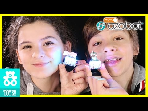 SUPER CUTE TINY ROBOTS!  EVO by OZOBOT!  Smart Robots Teach Coding & Creativity | KITTIESMAMA