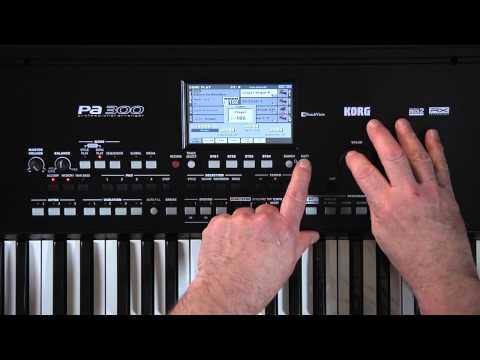 KORG Pa300 Video Manual - Part 4: Song Play
