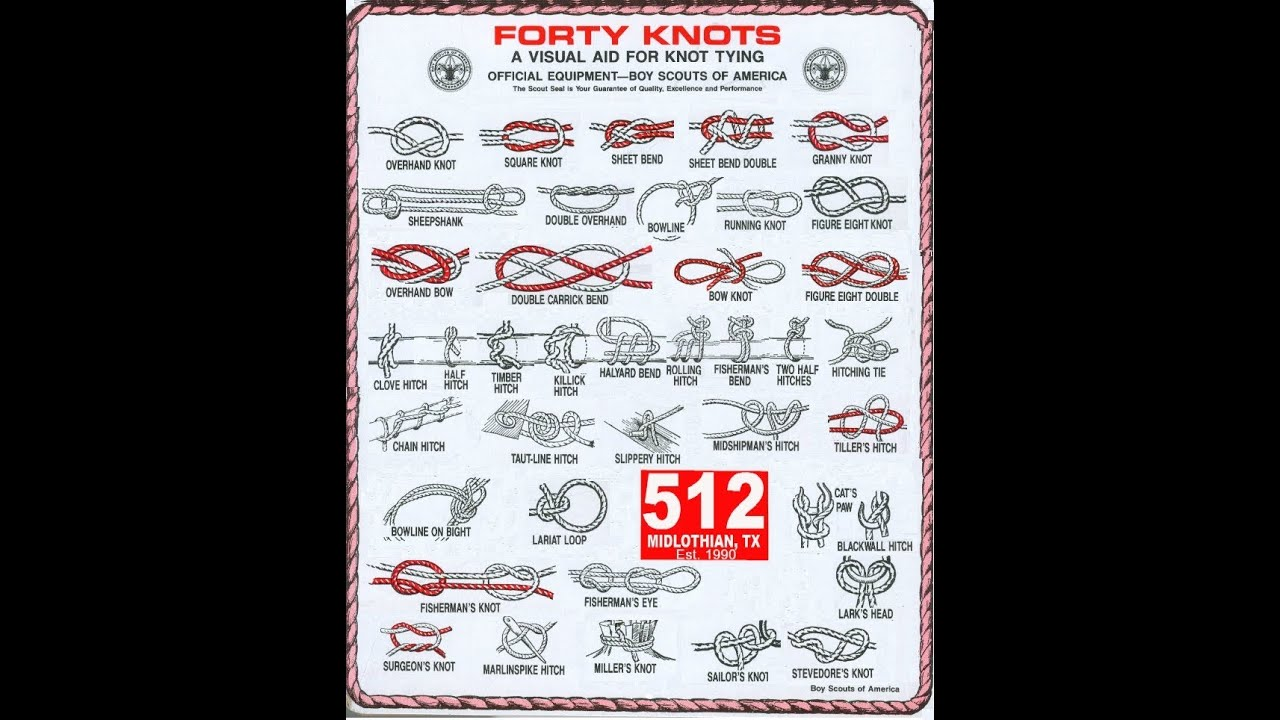 How to tie knots maker fair vancouver youtube for Fishing knots pdf