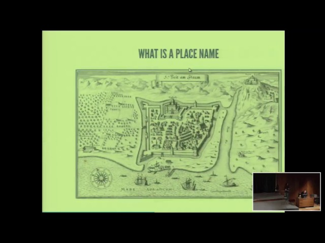 Nina Cengic - CROALA Index locorum , presentation at Linked Pasts 2016, Madrid