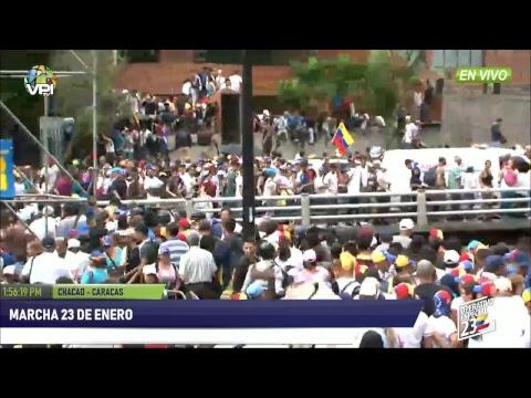 Venezuela: Juan Guaidó se autoproclamó como presidente del país y Trump lo reconoció