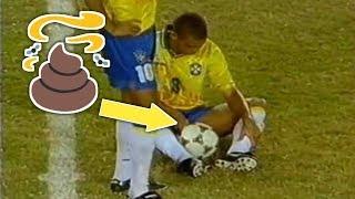 أسوء اهانة تعرض لها افضل لاعب في تاريخ كرة القدم - اجبروه على ارتداء حفاظة..!!