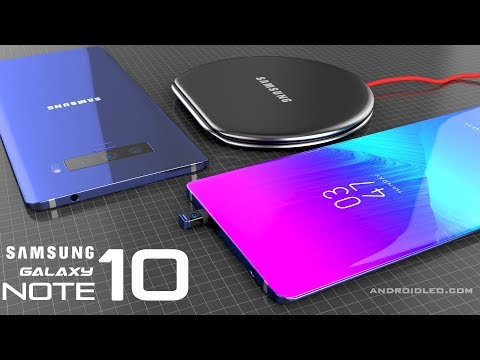 Samsung Galaxy Note 10 With S-Pen Camera (Best IPhone Killer Phone) Introduction Concept