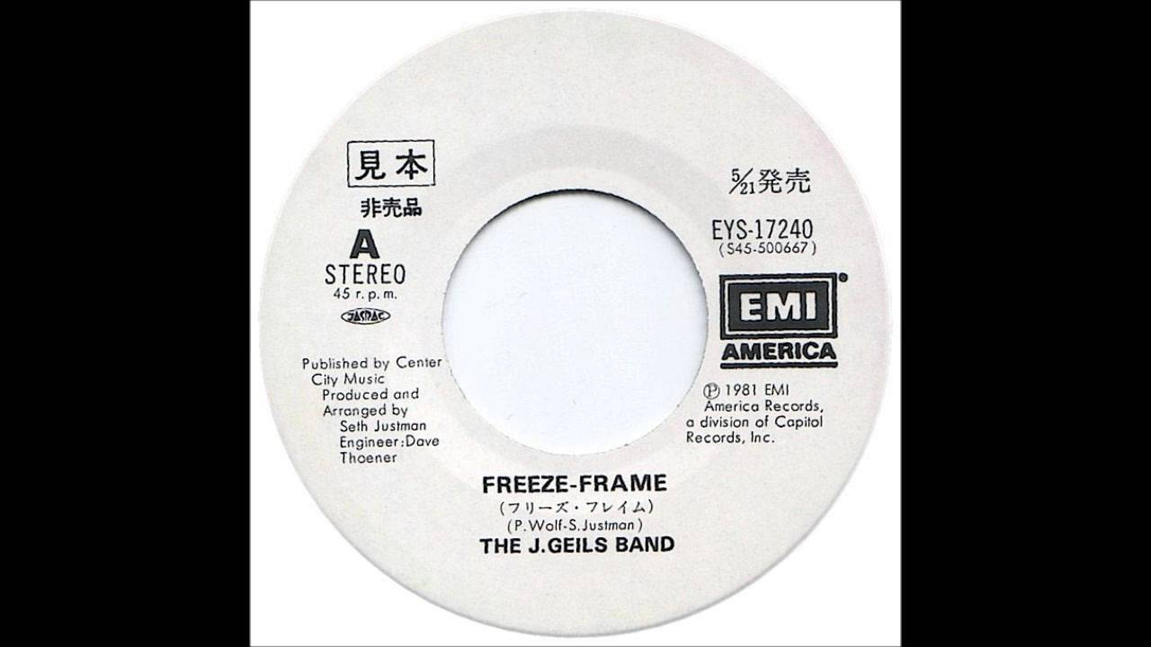 The J. Geils Band - Freeze-Frame - Billboard Top 100 of 1982 - YouTube