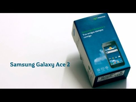 MOVISTAR - Samsung Galaxy Ace 2 Unboxing