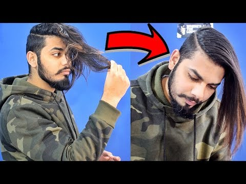 How To Get Straight Hair At Home I Men's Hair Straightening | Asad Ansari