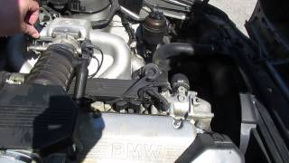 Bruit BMW e34 530i 6 cylindres