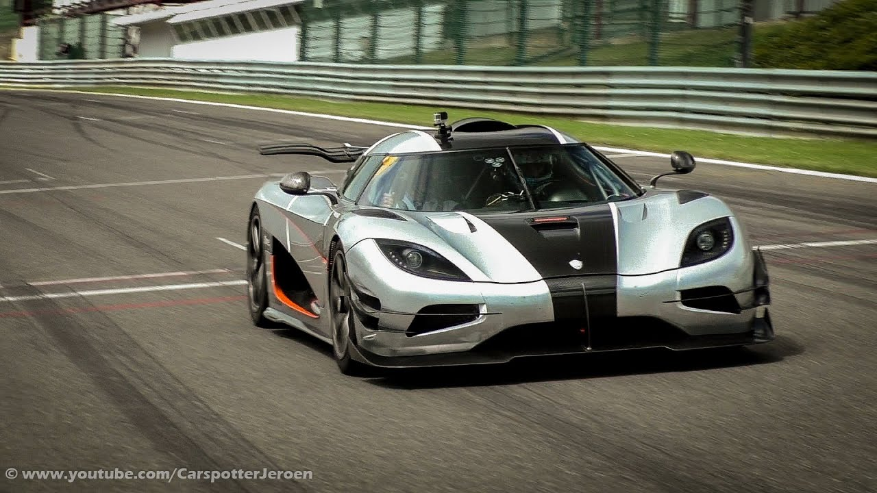 Agera One 1 >> Koenigsegg One:1 - Powersliding, Brutal Accelerations & Downshifts! | Modena Trackdays 2015 ...