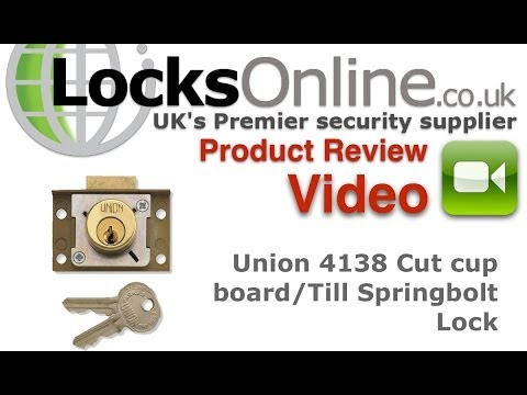 Union 4138 Springbolt Cabinet Till lock     LocksOnline Product Review Video