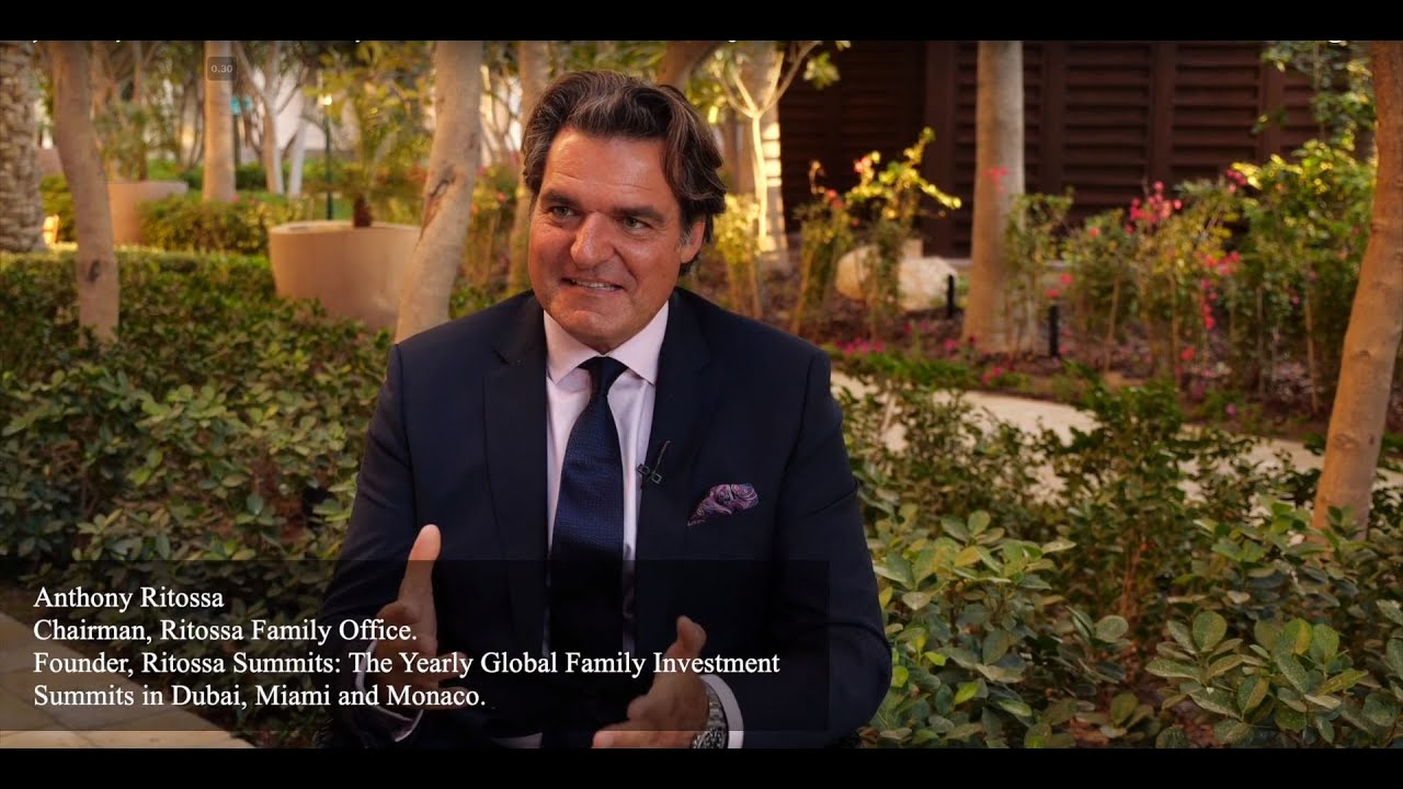 Sir Anthony Ritossa - 10th Global Family Office Investment Summit