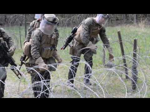 Fast Marines Conduct Embassy Security Training