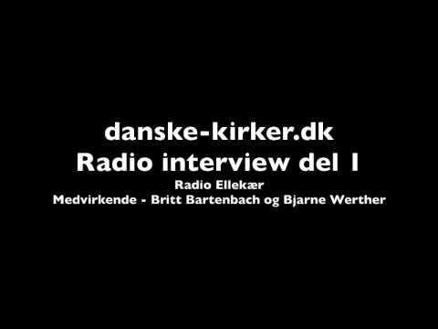 Radio Ellekær interview med Danske Kirker