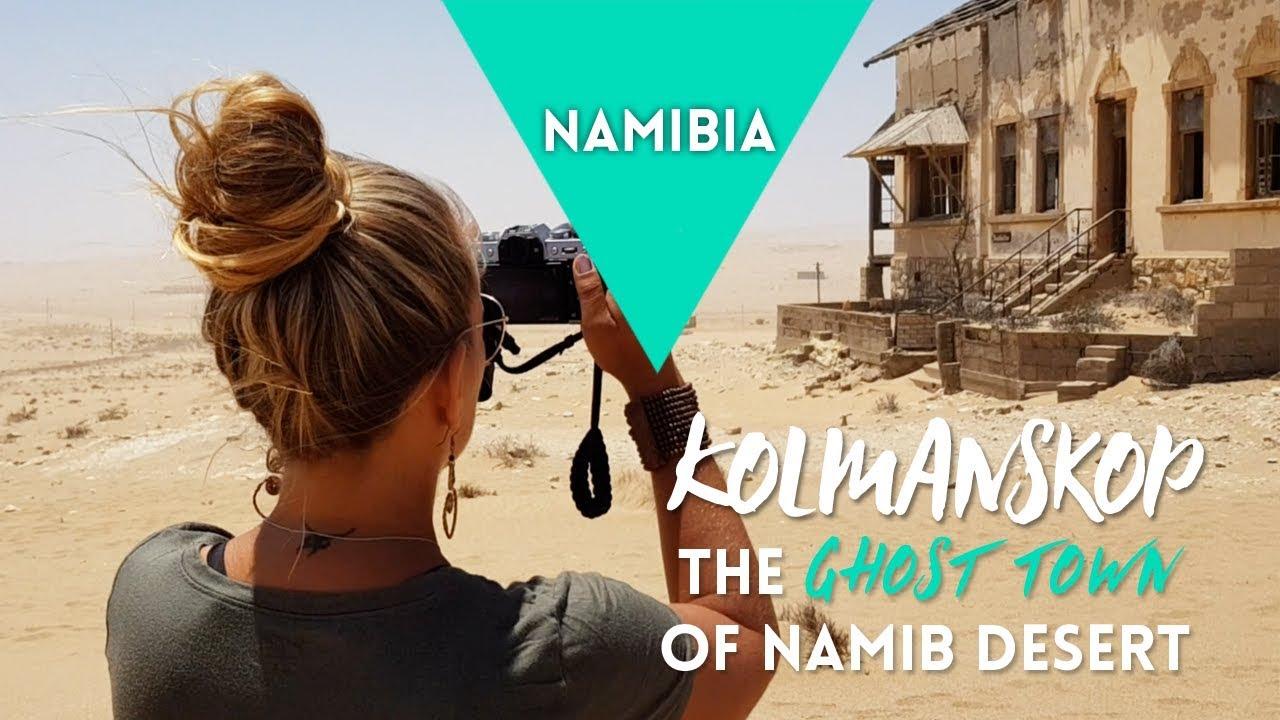 NAMIBIA: Kolmanskop - The Ghost Town of Namib Desert